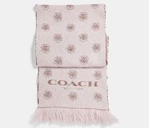"""Twill-Schal im Tea Rose""""-Design"""