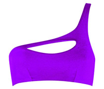Lexxi Bikini Top In Purple With One