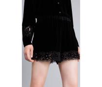 Shorts aus Samt