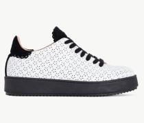 Twinset Sneaker mit Perforierungen