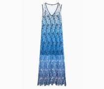Kleid Aus Spitze Im Farbverlauf