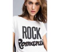 T-Shirt aus Baumwolljersey mit Grafischem Print