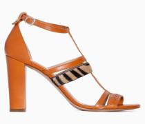 Twinset Sandalette Aus Cavallino-Leder