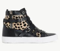 Twinset Sneaker Mit Animalier-Dessin