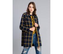 Mantel aus Jacquard mit Karomuster