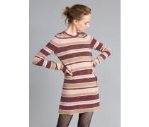 Minikleid aus Lurex mit Streifen