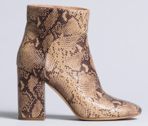 Ankle-Boot aus Animalierleder