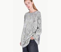Minikleid aus Sweatshirtstoff