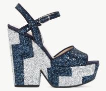 Twinset Sandalette mit Glitter