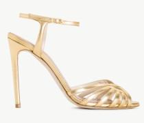 Twinset Metallic-Sandalette