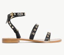 Twinset Sandale Aus Leder