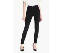 Jeans Mit Hoher Taille