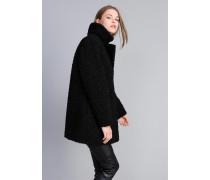 Mantel aus Lammfellimitat