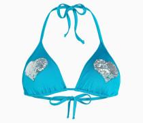 Triangel-Bikinitop Mit Herzen
