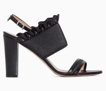 Twinset Sandalette Mit Rüschen