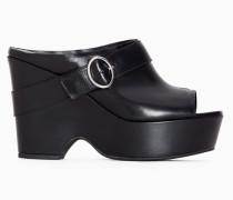 Twinset Sandale mit Keilabsatz