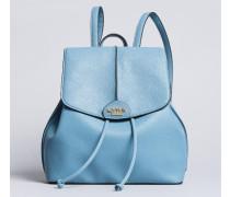 Rucksack aus Lederimitat