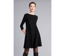 A-Linien-Kleid aus Interlock-Jersey