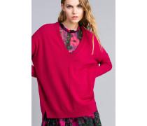 Langer Pullover aus Wolle und Kaschmir