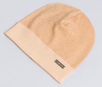 Mütze aus Lurexgarn