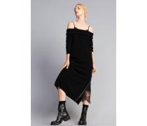 Langes Kleid mit Unterkleid