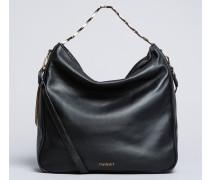 Hobo-Bag aus Leder