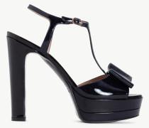 Twinset Sandalette aus Lackleder