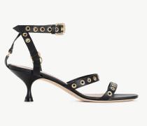 Twinset Sandalette Aus Leder