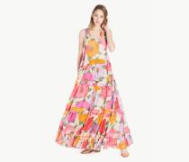 Langes Kleid aus Musselin