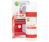 Skin Naturals Ultra Lift + Serum Cream 2in1 Anti-Ageing Skincare 50ml