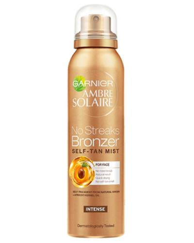 Ambre Solaire No Streaks Bronzer Dry Face Mist - Original Intense 75ml
