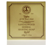 Sandalwood Herbal Shaving Soap Refill 100g