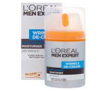 Men Expert Wrinkle De-Crease Moisturiser 50ml