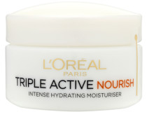 Dermo-Expertise Triple Active Nourish Intense Hydrating Moisturiser - Dry to Very Dry Skin 50ml