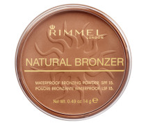 Natural Bronzer Waterproof Bronzing Powder SPF15 14g
