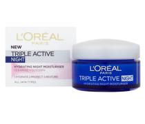Triple Active Night Hydrating Night Moisturiser - All Skin Types 50ml