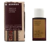 Vanilla, Freesia & Lychee Eau de Toilette Spray 50ml