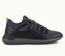 Sneakers NO_CODE aus Leder und Textil in Scuba-Optik