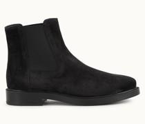 Chelsea Boots aus Veloursleder