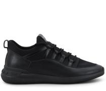 NO_CODE Sneakers aus Leder und Textil in Scuba-Optik