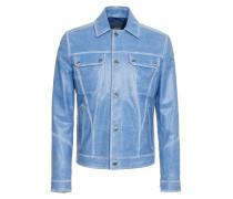 City Jacket aus Leder