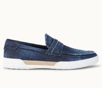 Loafer aus Denim
