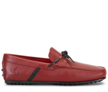 City Gommino Mokassins Tod's For Ferrari aus Leder