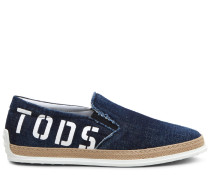 Slip-ons aus Denim