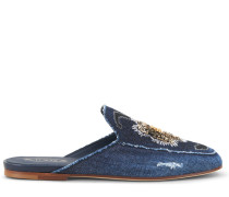 Mules aus Denim