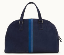 Travel Bag aus Veloursleder