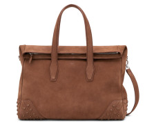 Travel Bag Medium aus Veloursleder