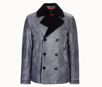 City Peacoat aus Leder