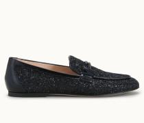 Loafer aus Glitter