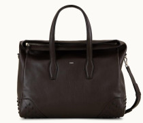 Travel Bag Medium aus Leder